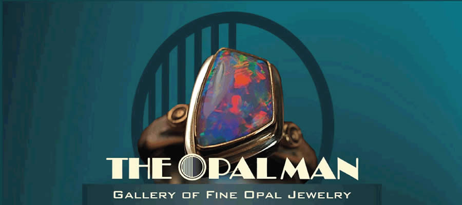 The Opal Man Logo