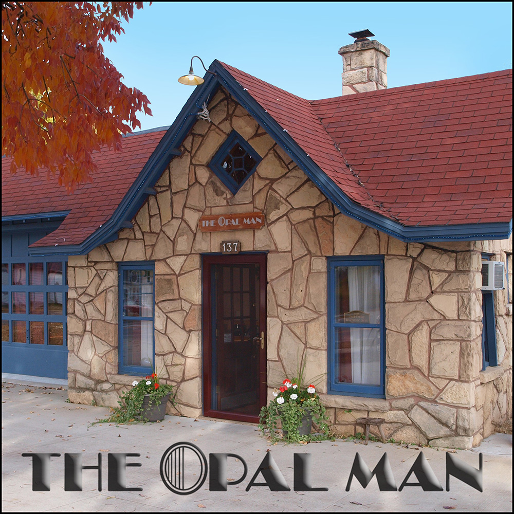 The Opal Man Building on Winstead Street