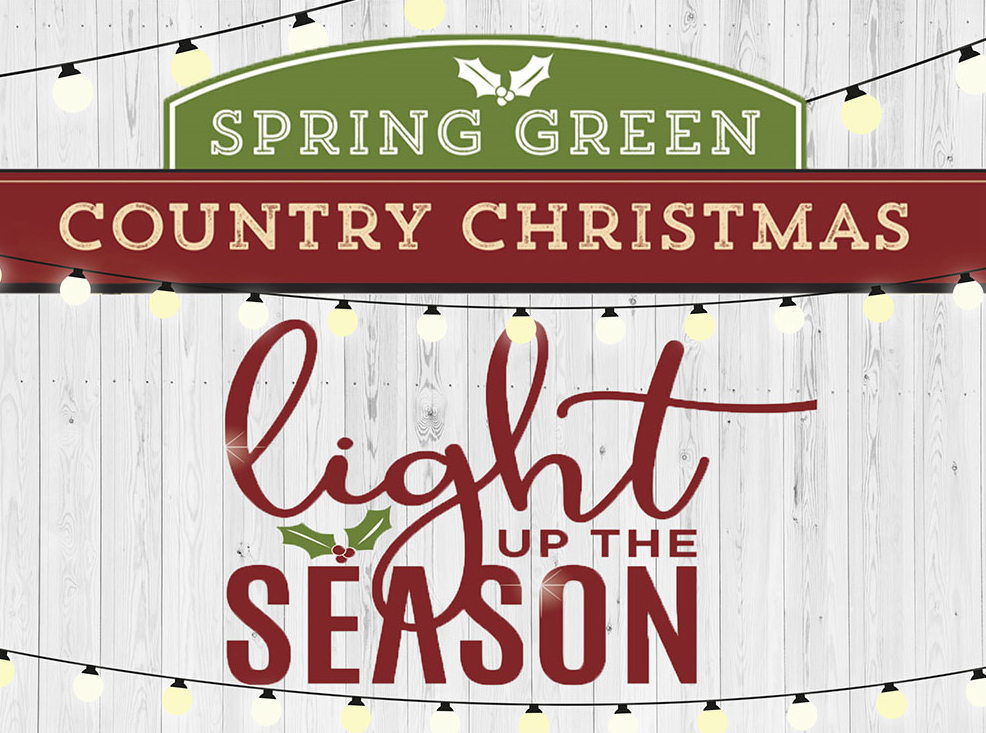 Country Christmas - Spring Green
