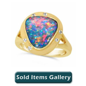 Sold Opals and Jewelry