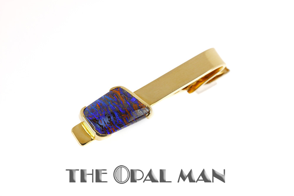 Stone Tie Clip