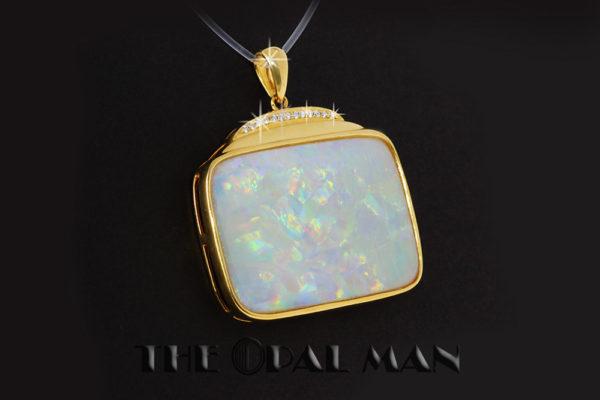 Opal Pendant at The Opal Man