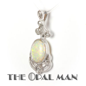 Opal Pendant at The Opal Man