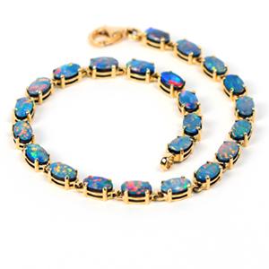 Opal Bracelets in Gold
