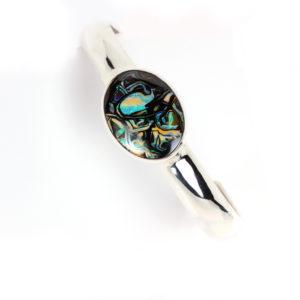 Opal Bracelets in Silver