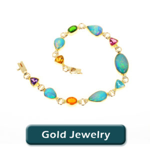 Opal Jewelry in Gold
