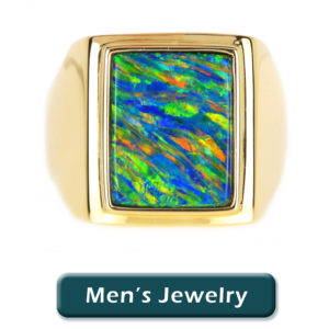 Men's Opal Jewelry at The Opal Man