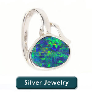 Opal Jewelry in Silver