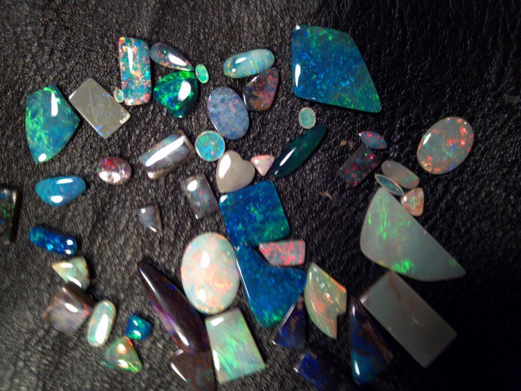 Polished Assortment of Australian Opal